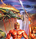 Golden Axe series box art page| BOX=ART